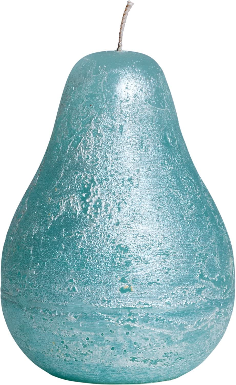 4 inch Sea Foam Pearl Ritz Vance Kitira Pear Candle