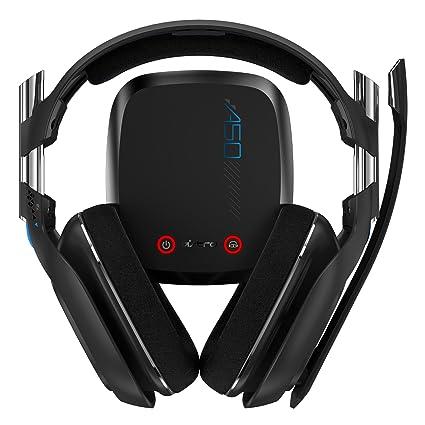 Astro Videojuego A50 Inalámbrico Auriculares - Negro (PS4) (certificado RECONSTRUIDO): Amazon.es: Videojuegos