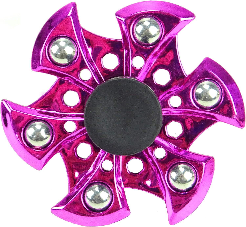 TOYLAND Spinarooz Hand Spinner Novelty Toy - Fidget Spinner - 3 en 1 - Salta, rebota, Gira - Pink: Amazon.es: Juguetes y juegos