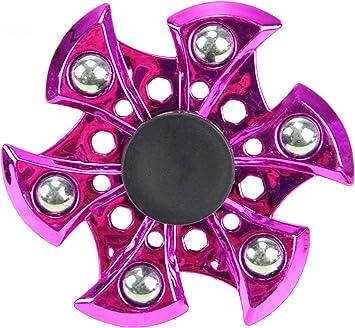 TOYLAND Spinarooz Hand Spinner Novelty Toy - Fidget Spinner - 3 en 1 - Salto, Rebote, Giro (Rosado): Amazon.es: Juguetes y juegos