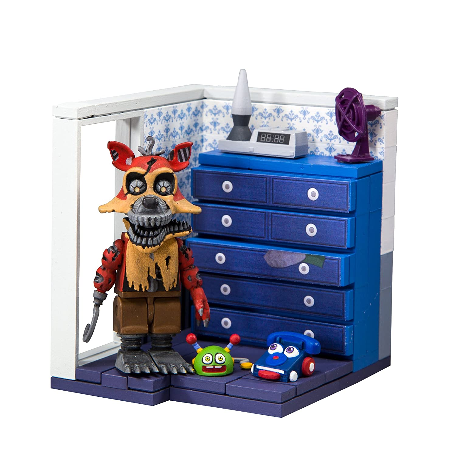 Left Robeer's  McFarlane Toys Five Nights