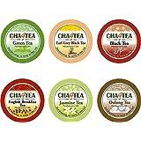 Cha4TEA 36 Keurig K-Cup Tea Variety Flavor Sampler Pack K Cups (Green Tea, Black Tea, Jasmine, Earl Grey, Oolong Tea, Peppermint)
