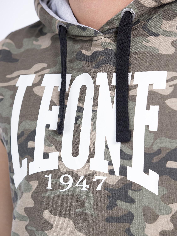 Sweatshirt mit Kapuze LEONE 1947/Never Out Stock
