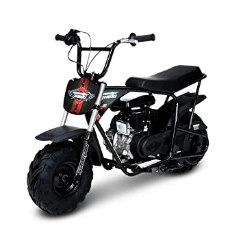 Monster Moto Mm B80 Brs Black Red Gas Mini Bike With