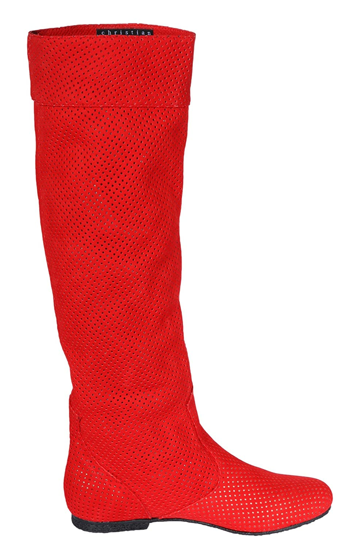 Christian Cole Damen Damen Damen Sommer-Stiefel Rot CC101047 5756c5