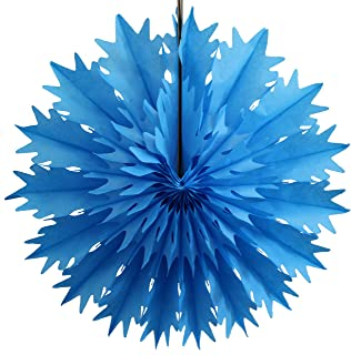 product image for Devra Party 3-Pack 19 Inch Tissue Paper Snowflake (Turquoise)