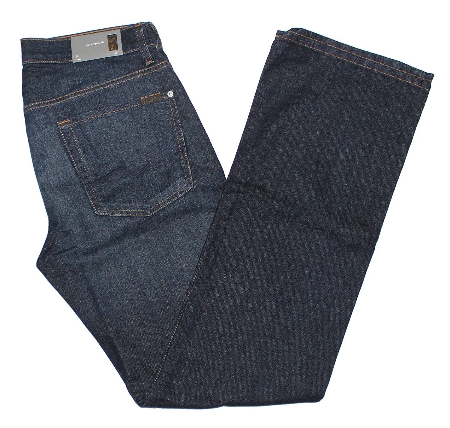 7 For All Mankind Men's Bootcut Original Fit Jeans in