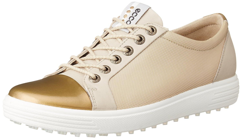 Ecco Womens Casual Hybrid, Zapatillas de Golf para Mujer 38 EU|Dorado (Oro)