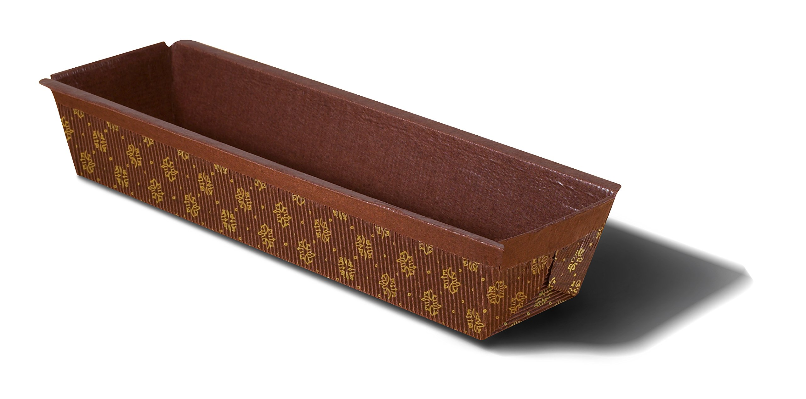 Premium Paper Baking Loaf Pan, Nonstick, Disposable, for Chocolate Cake, Banana Bread, Set of 12 - By Ecobake