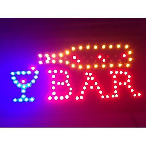Neon Bar Lights Amazon: LED Lights For Signs: Amazon.com