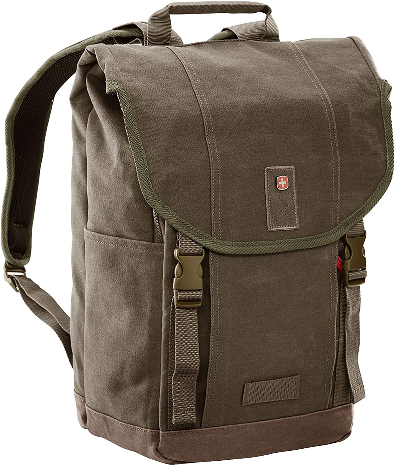 Wenger Foix 16'' Laptop Backpack with Tablet Pocket - Olive Green