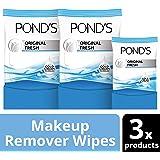 Pond's MoistureClean Makeup Remover Wipes, Original Fresh, 75 ct