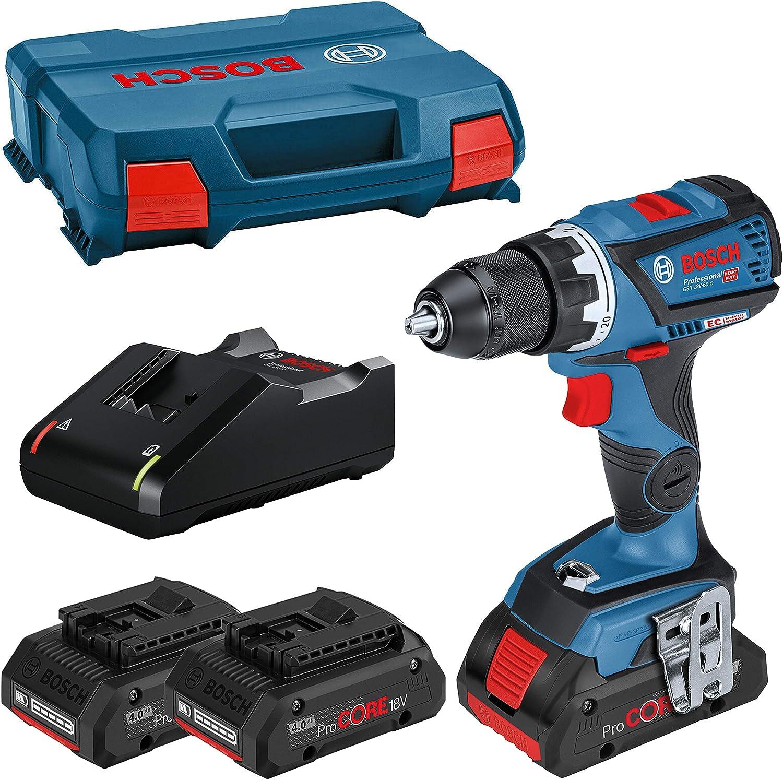 Size Couleur Bosch Professional 0615990L4R Bosch 0615990L4R-GSR18V-60C+3x4,0AhProCO18V+GAL18V40+LCas