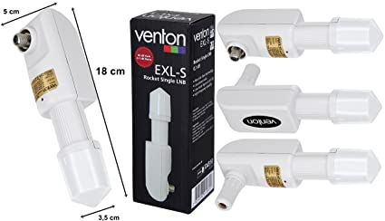 Venton Rocket EXL-S Single LNB 0 1 dB Full HD 3D Ready