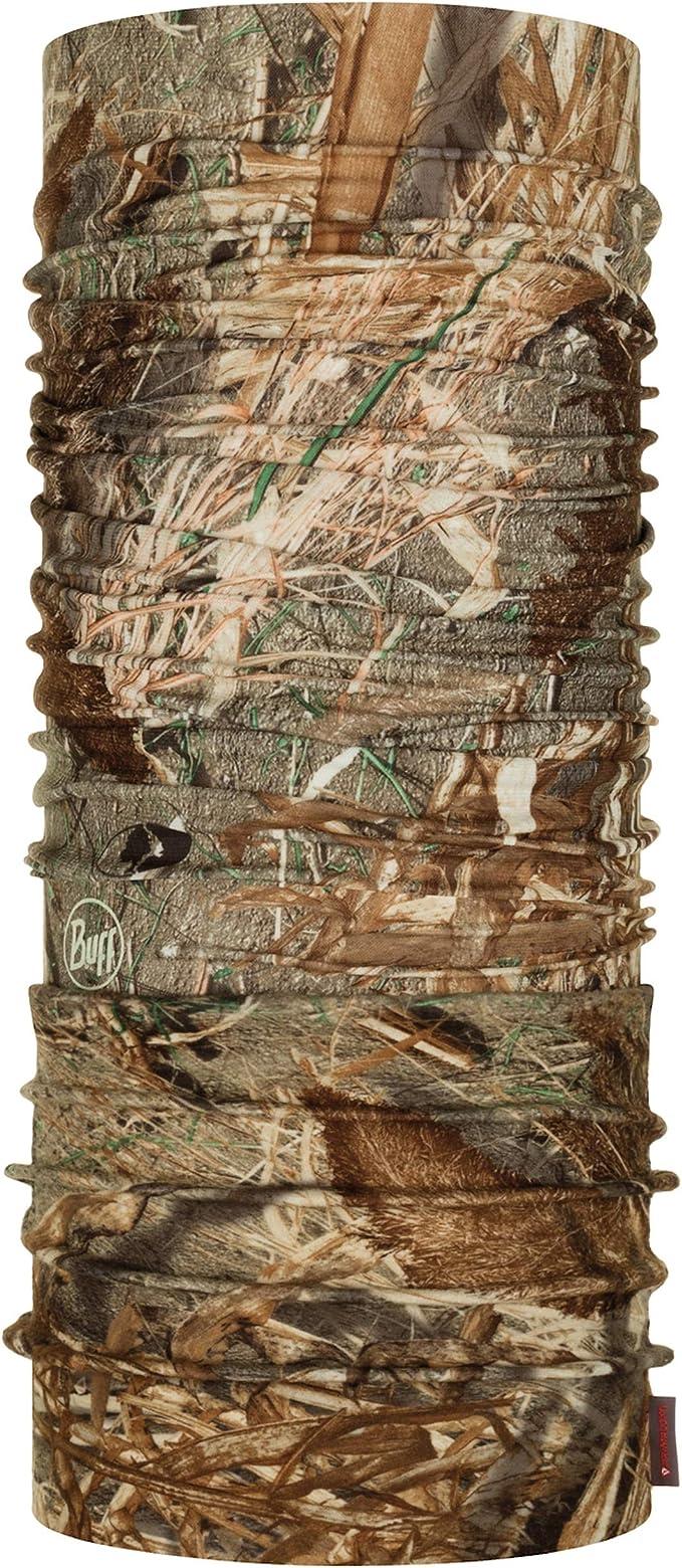 Marron Buff Duck Blind Tour de Cou Polaire Mossy Oak Mixte Adulte FR Unique Fabricant Taille One sizeque