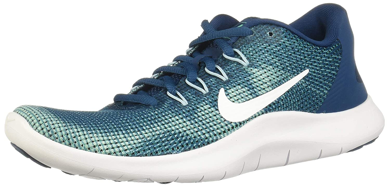 MultiCouleure (bleu Force blanc-ocean Bliss-smokey bleu 401) 36.5 EU Nike WMNS Flex 2018 RN, Chaussures de FonctionneHommest Compétition Femme