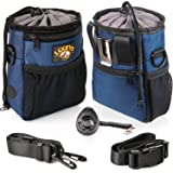 Pet Products Pet Dog Treat Pouch Dog Training Treat Bags Easily Carries Pet Toys & Foods Kibble Treats Built-in Poop Bag Dispenser Portable Agility Equipment