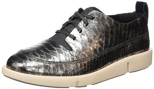 Clarks Tri Nia, Zapatos de Cordones Derby para Mujer: Amazon.es: Zapatos y complementos