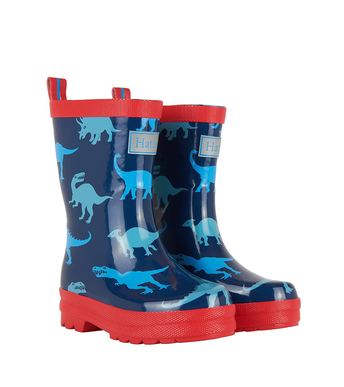 Hatley Kids Rain Boots - Lots Of Dinos Dino Shadows 12 M US Little Kid Hatley Children's Apparel RB0DINO478