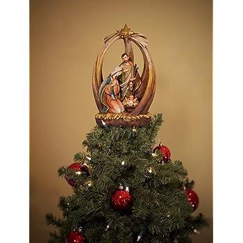 Amazon Com Summit Arbor Holy Family With Star Christmas
