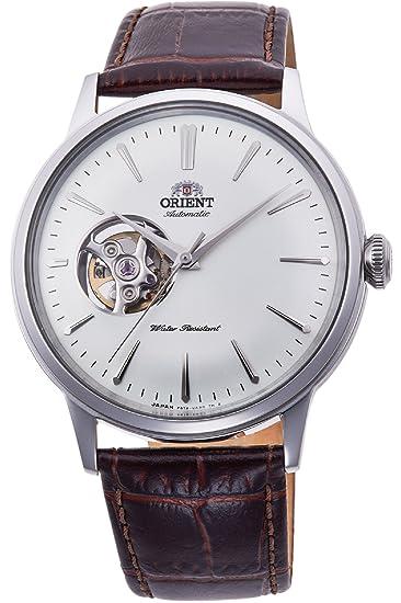 Orient Reloj Analógico para Hombre de Automático con Correa en Cuero RA-AG0002S10B