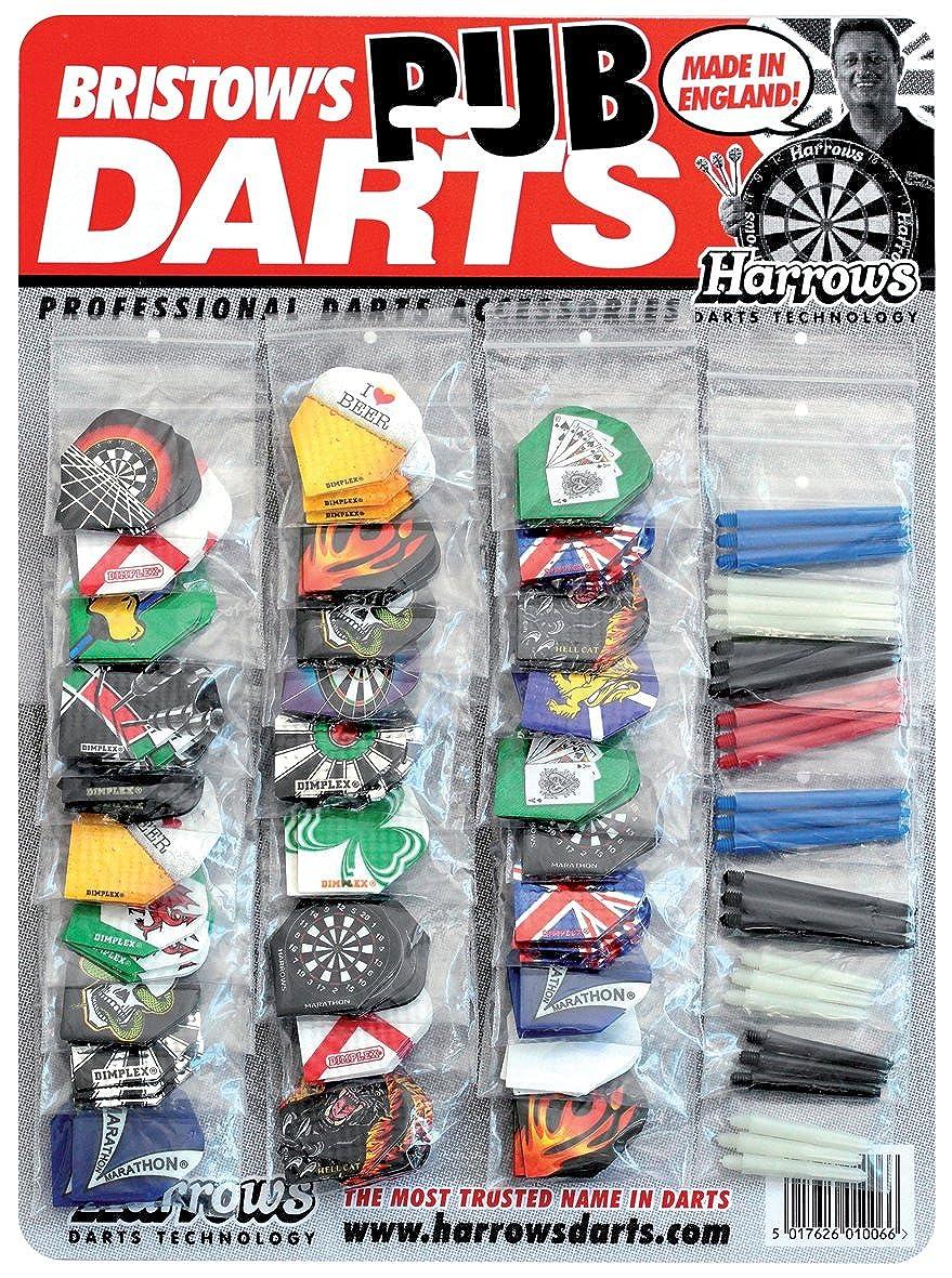 Harrows pub Darts Show di alberi e voli Harrows Pub Darts Show Card EA354