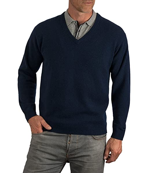 The Rocky Horror Picture Show Brad's Navy V-neck Sweater