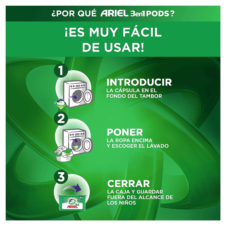 Ariel 3en1 PODS Original Detergente En Cápsulas Superconcentrado ...