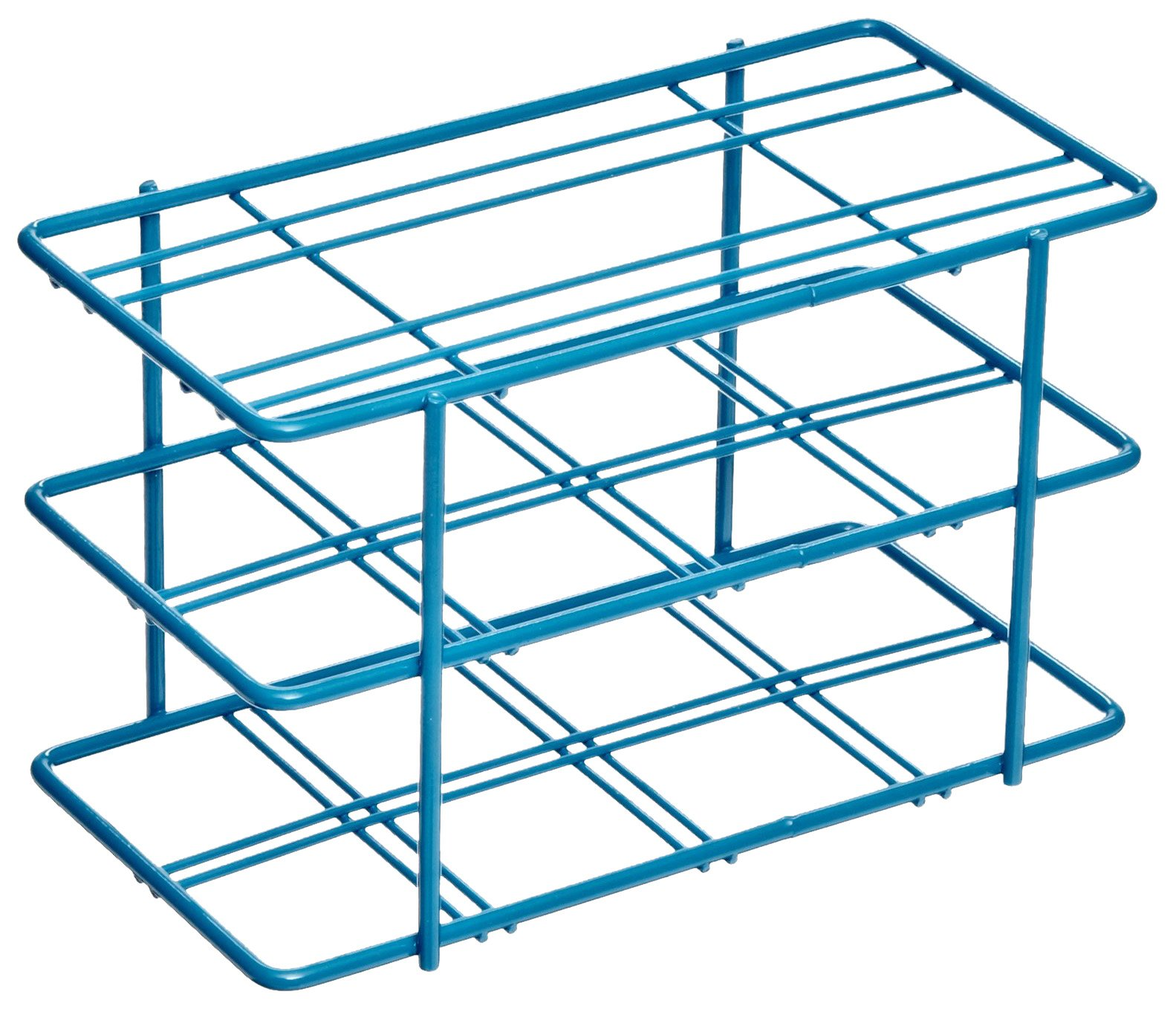 Bel-Art F18794-0000 Poxygrid Centrifuge Tube Rack; 50ml, 8 Places, 3³/₁₆ x 5⅞ x 3⅝ in, Blue