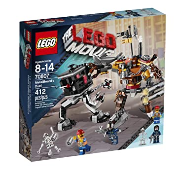 Amazon.com: LEGO Movie 70807 MetalBeard's Duel: Toys & Games