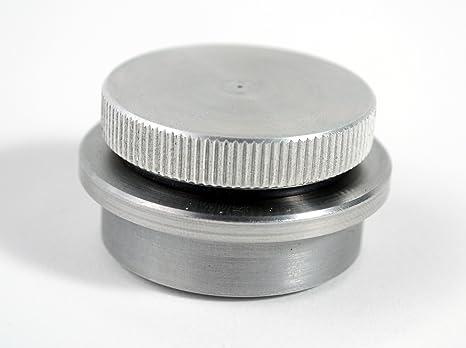 Rullo Custom ciclos con parte superior lisa aluminio Gas Cap con acero soldadura en tapón