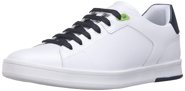Amazon.com: Hugo Boss Boss Green Men's Ray Check Fashion Sneaker, Open  Blue, 7 M UK/8 M US: Shoes