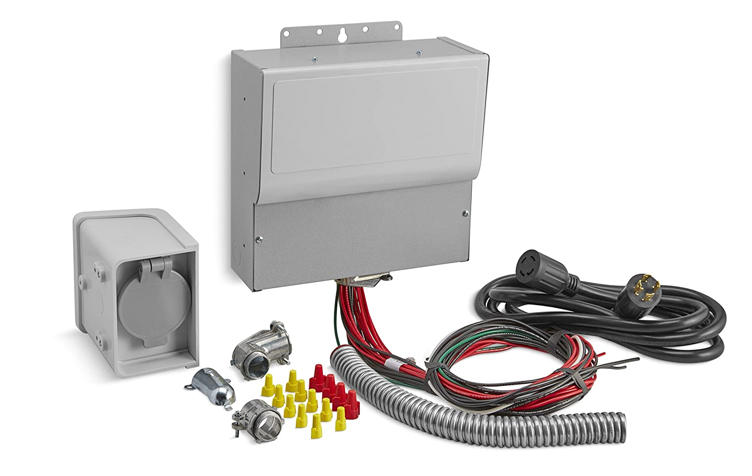 Kohler 37 755 07-S 10-Circuit Manual Transfer Switch Kit for Portable Generators