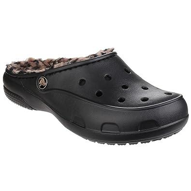 031af75b5c45 Crocs Women's Freesail Leopard Lined Clogs, Gold, Various: Amazon.co ...