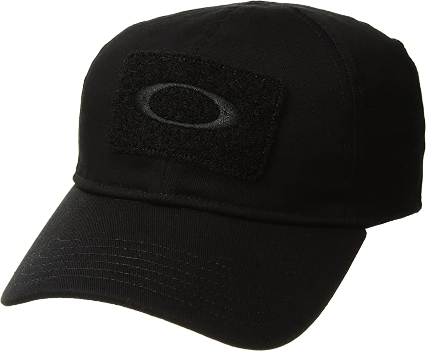 Oakley Mens SI Cotton Flexfit Hat Small Medium Black at Amazon Men s ... f572e26d873c