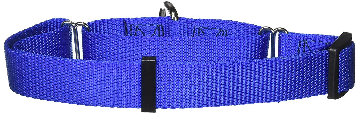 bluee X-Large bluee X-Large Majestic Pet 18-Inch to 26-Inch Martingale, bluee, 100-200-Pounds Dog