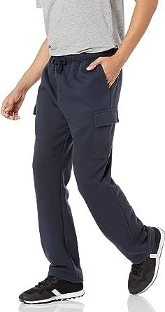 Amazon Essentials Pantalón Cargo de Forro Polar Hombre