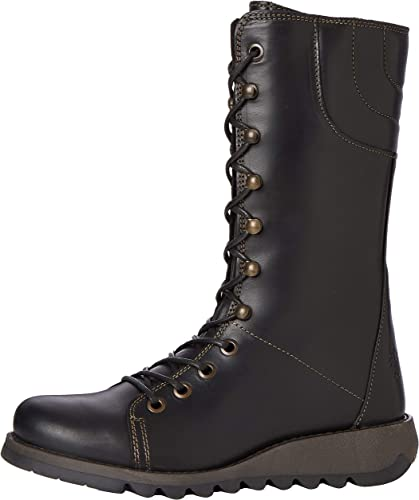 Ladies Fly London Selu Winter Autumn Office Work Heeled Smart Boot All Sizes