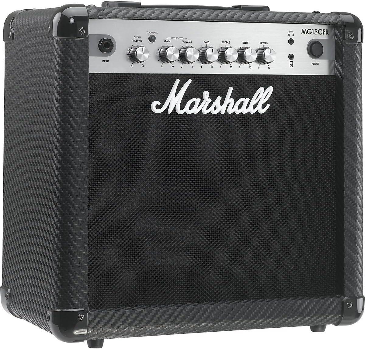 Marshall MG15CFR - Amplificador combo 15 w reverb mma: Amazon.es ...