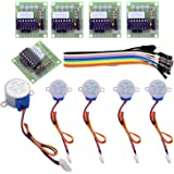 Elegoo 5 sets 28BYJ-48 5V Stepper Motor + ULN2003 Motor Driver Board for Arduino