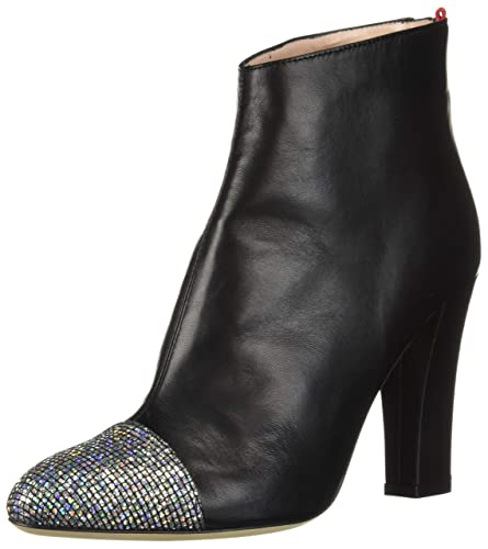 15feadf2a57 SJP by Sarah Jessica Parker Women's Rumi Rounded Cap Toe Ankle Bootie