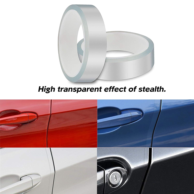 Automotive Anti-Collision Strip for Car Door Edge//Front and Rear Bumper//Door Sill Protector Fits for Most Car Universal Car Door Edge Guard Door Sill Protector