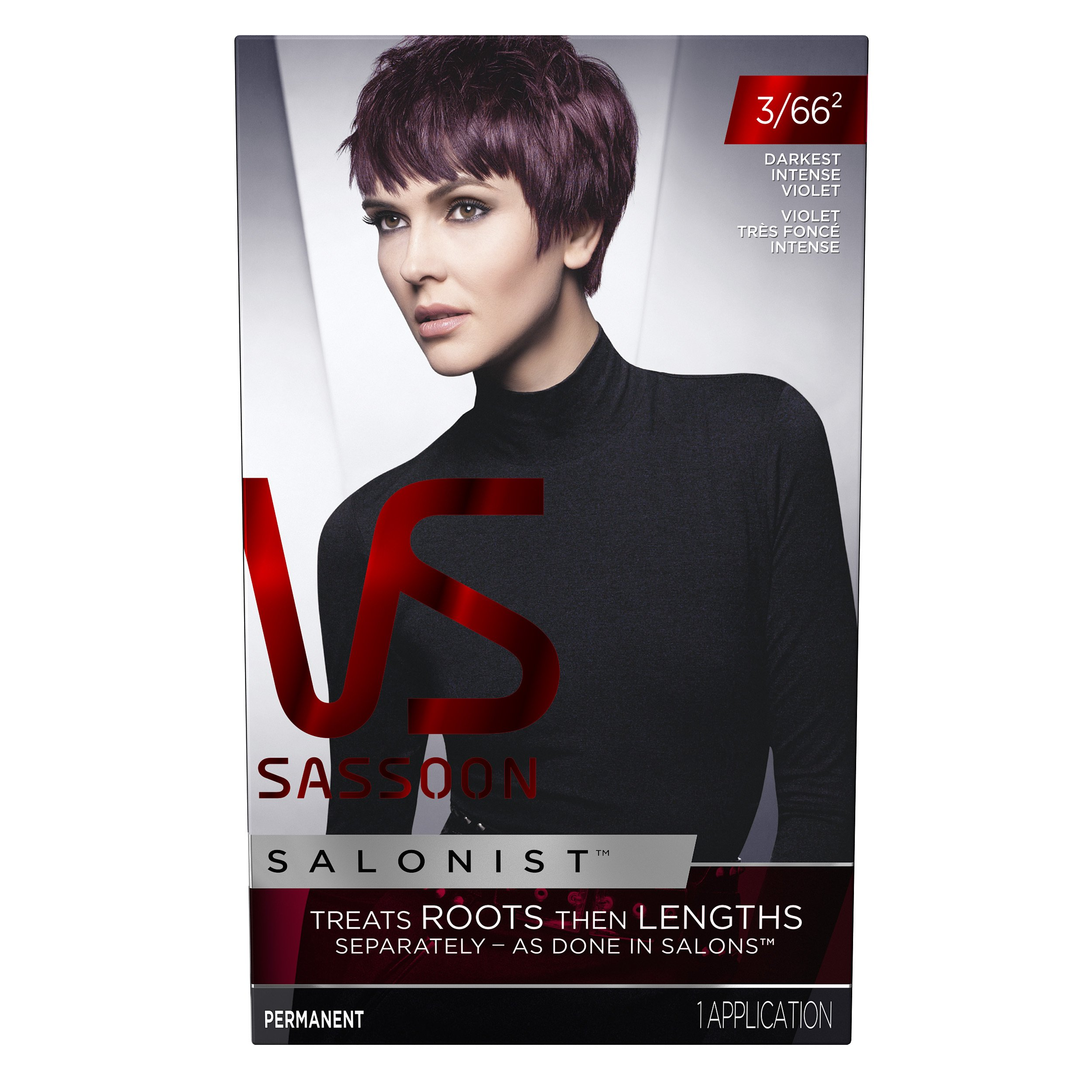 Amazon Vidal Sassoon Pro Series Hair Color 3vr Deep Velvet