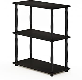 Furinno Turn-N-Tube 3-Tier Multipurpose Shelf Display Rack