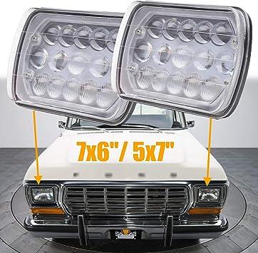 DOT 7X6 5x7 LED Headlight Hi//Lo Beam For Chevy Express Cargo Van 1500 2500 3500
