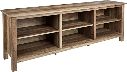 Rockpoint 70inch,Rustic Oak TV Stand Console