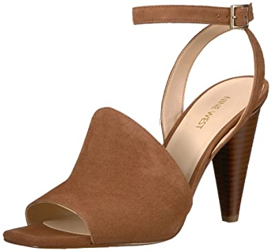 f6dd9ee69a3 Amazon.com  Nine West Women s Quilty Suede Heeled Sandal  Shoes