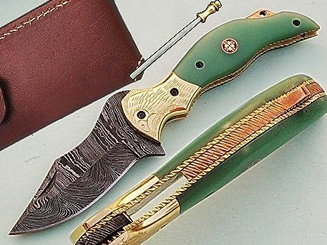 Hecho a mano cuchillo de bolsillo plegable (18 cm) Awesome ...