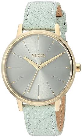 216714db396c7 Nixon Kensington Leather Casual Designer Women s Watch (37mm. Leather Band)