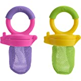 Munchkin 2-Piece Fresh Food Feeder, Purple/ Green